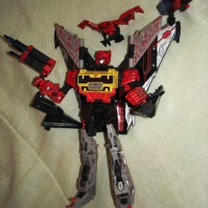 Transformers Cybetron Blaster Soundwave Hasbro