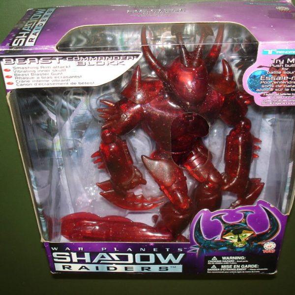 Shadow Raiders Blokk BIG Action Figure Trendmasters