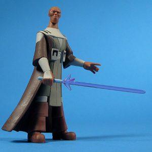 Star Wars Mestre Jedi Mace Windu ANI Action Figure Hasbro