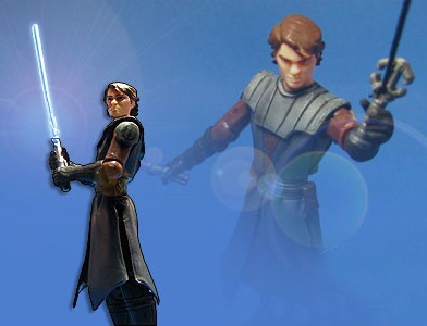 Star Wars Action Figure Anakin Skywalker CW Hasbro