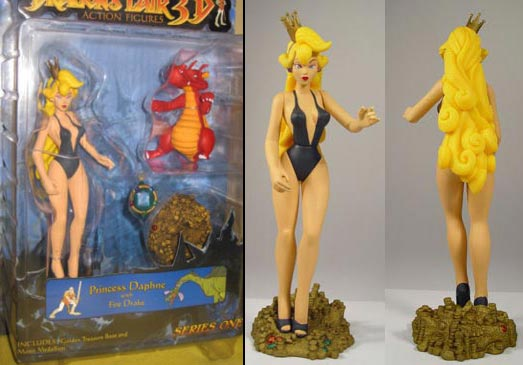 Dragon's Lair – Princess Daphane Action Figure