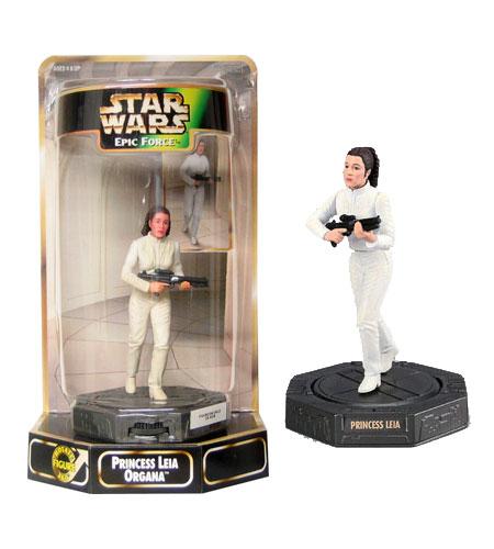 Star Wars Epic Force Leia Bespin Figure Hasbro