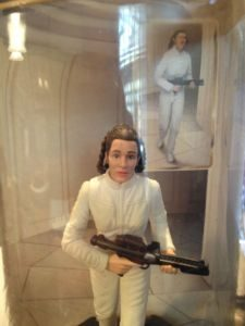 Star Wars Epic Force Leia Bespin Figure Hasbro