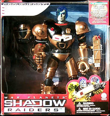 Shadow Raiders Action Figure Grave Heart BIG Trendmasters
