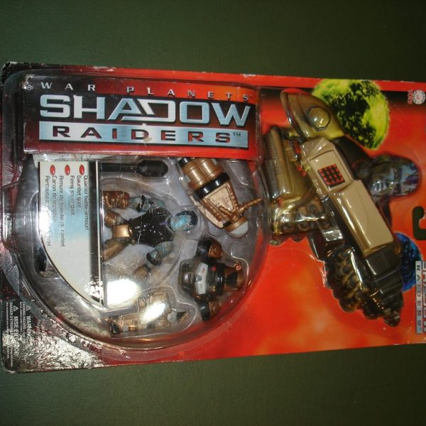 Shadow Raiders Grave Heart Carded Trendmasters