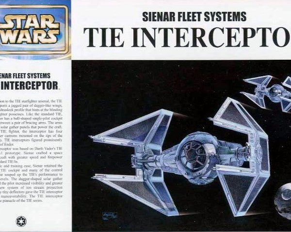Star Wars Tie Interceptor 1/72 Model Kit Fine Molds