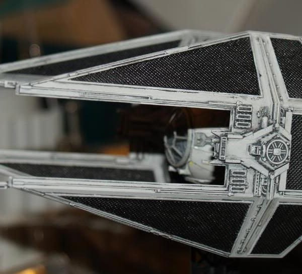Tie Interceptor 1/72 Model Kit Fine Molds