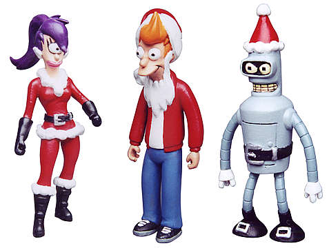 Futurama Set de Natal Moore Creations