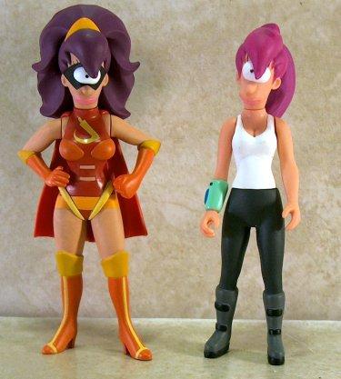 Futurama Leela Clobberella Action Figure Toynami