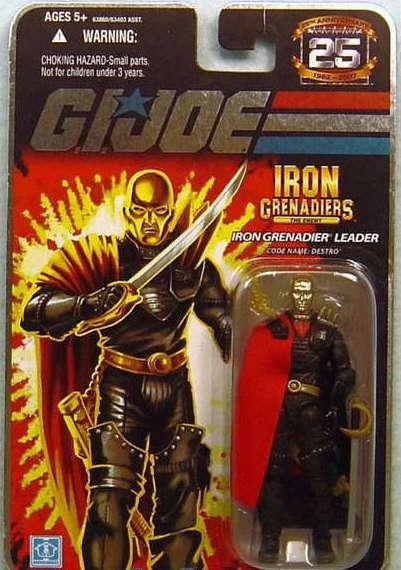 G.I. Joe – Comandos em Ação – Destro Action Figure Hasbro