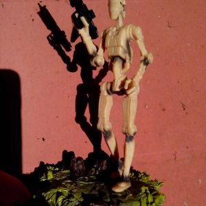 Star Wars Action Figure Battle Droid Hasbro