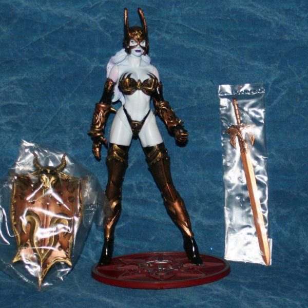 Lady Death Battle Armor Action Figure Moore Creations