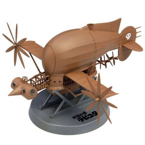 Laputa Dirigível Tiger Moth Model Kit Fine Molds