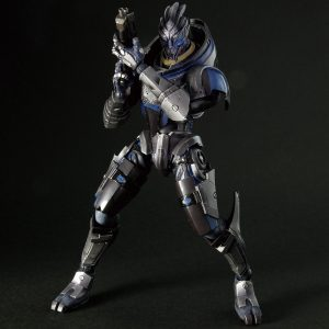 Mass Effect Garrus Vakarian Action Figures Play Arts