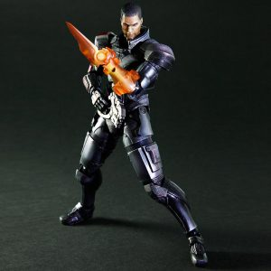 Mass Effect Commander Sheppard Male Action Figure Play Arts