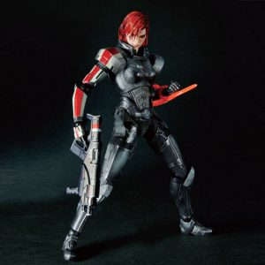 Mass Effect Commander Sheppard Female Action Figures  Play Arts