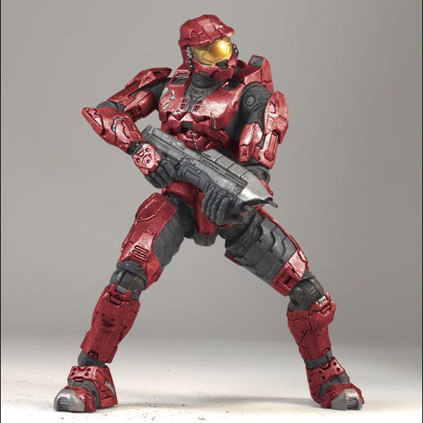 Halo-3 Spartan Spartan Red Action Figure Mc Farlane Toys