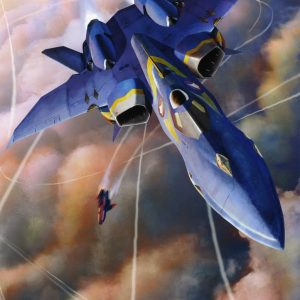 Macross Plus YF-21 Valkyrie Model Kit Hazegawa
