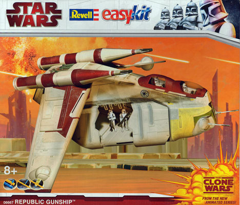 Republic Gunship Model Kit Revell