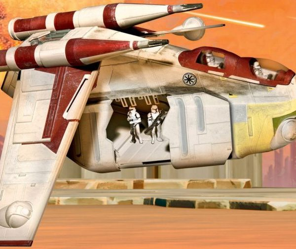 Republic Gunship Model Kit Revell