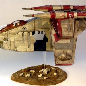 Star Wars Republic Gunship Model Kit Revell