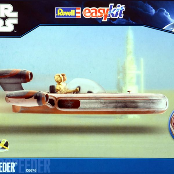 Luke Skywalker Landspeeder Model Kit Revell