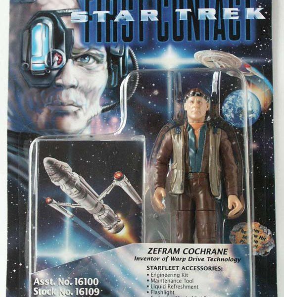 Star Trek Zefram Cochrane Action Figure Playmates