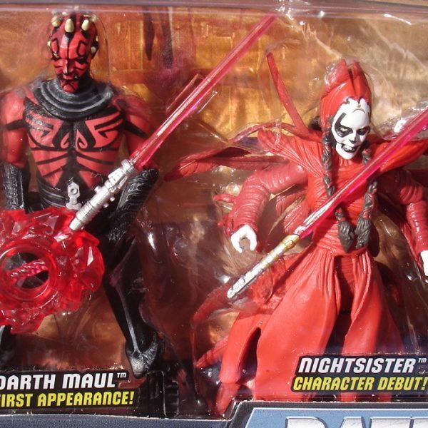 Star Wars Action Figure Darth Maul Return Battle Pack Hasbro