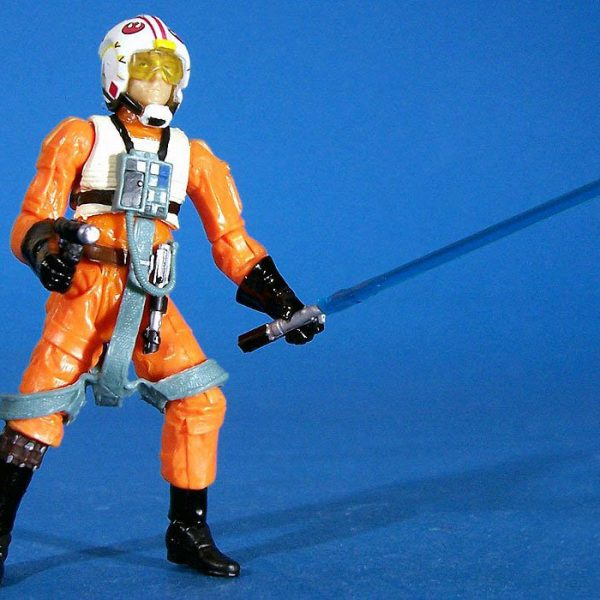Star Wars Action Figure Luke Skywalker Pilot Hasbro