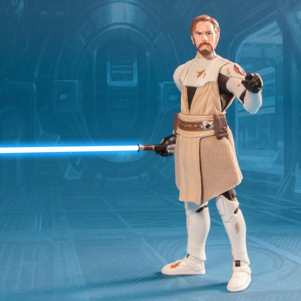 Star Wars Action Figure Obi-Wan Kenobi CW Vintage Hasbro