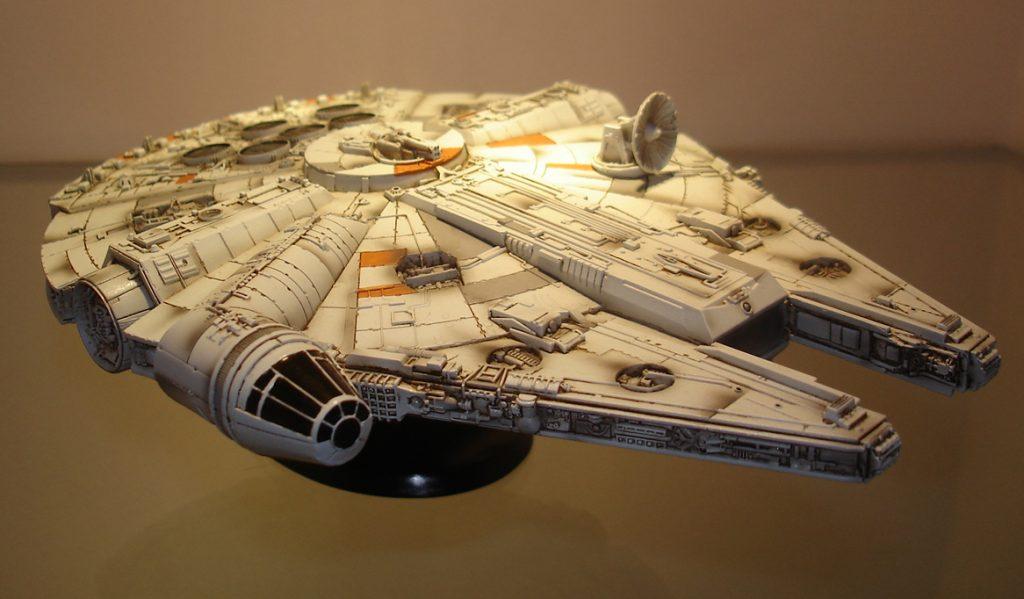 Star Wars Millenium Falcon 1/144 Resin Model