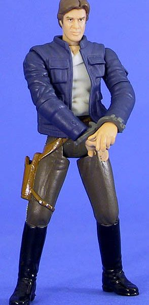 Star Wars Action Figure Han Solo Bespin POTJ Hasbro
