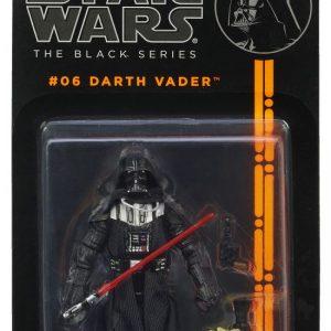 Star Wars Action Figure Darth Vader Black Series Hasbro