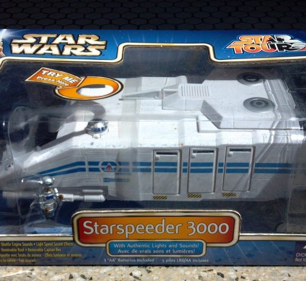 Star Wars Starspeeder 3000 Model Disney Star Tour