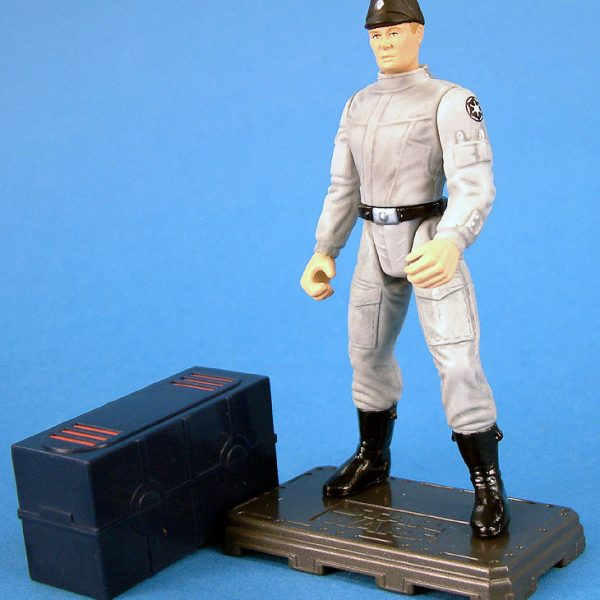 Star Wars Action Figure Imperial Scaning Engeneer Mail Hasbro