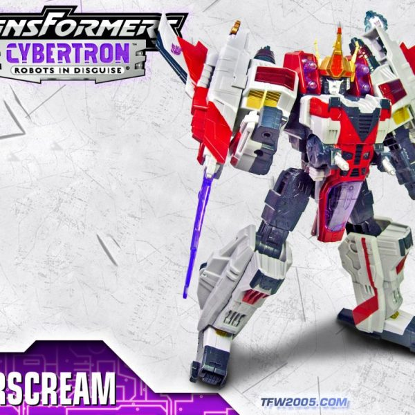 Transformers Cybertron Starscream Supreme Hasbro