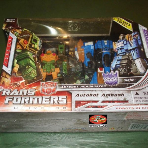 Transformers Universe Roadbuster and Dirge Set Hasbro