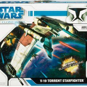 Star Wars V-19 Torrent Republic Starfighter Hasbro