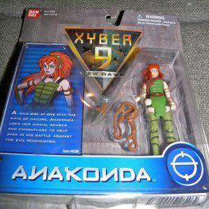 Xyber-9 Anakonda Action Figure Bandai