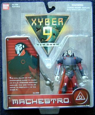 Xyber-9 Machestro Action Figure Bandai