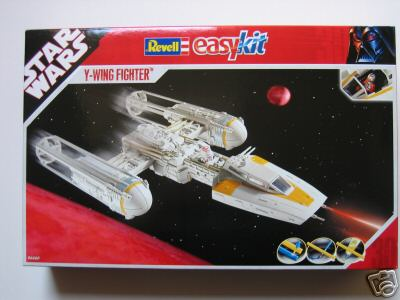 Star Wars Y-Wing Fighter Model Kit Revell