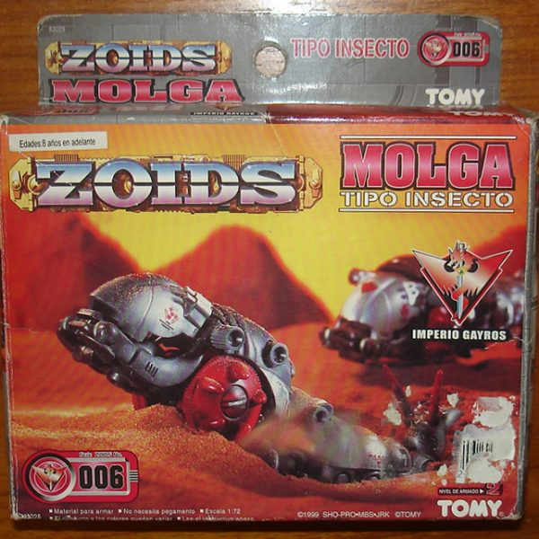 ZOIDS Molga Model Kit Tomy