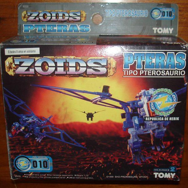 ZOIDS Pteras Model Kit Tomy