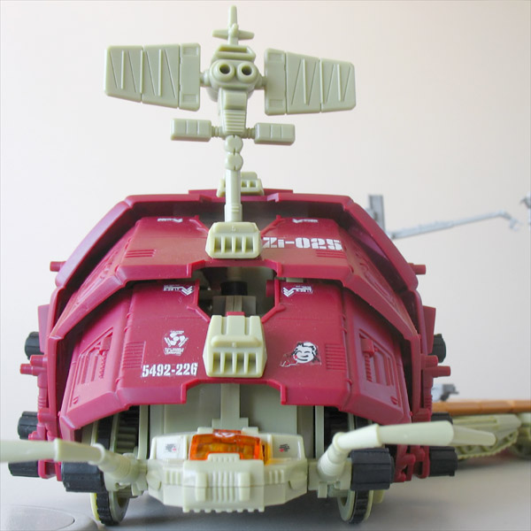 ZOIDS Gustav Super Carrier Tomy