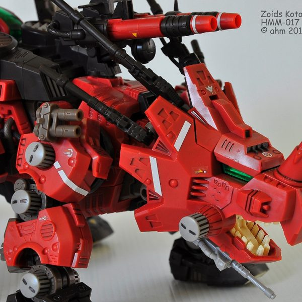 ZOIDS Red Horn Model kit Tomy