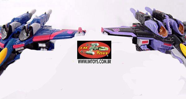 Transformers Armada Set of 2 Skywarp e Thaundercracker