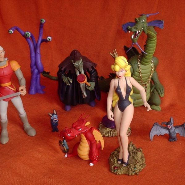 Dragon's Lair Set of 4 Action Figures