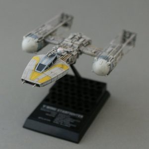 Star Wars Y-Wing Fighter 1/144 Model F-Toys