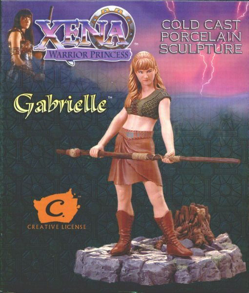 Gabrielle – Xena a Princesa Guerreira Resin Statue