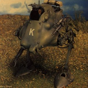 MASCHINEN KRIEGER (SF-3D) Jerry Model Kit Nitto